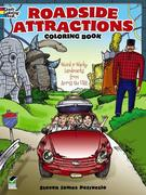 Roadside Attractions Coloring Book: Weird & Wacky Landmarks from Across the USA!