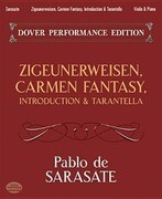 Zigeunerweisen, Carmen Fantasy, Introduction & Tarantella: With Separate Violin Part