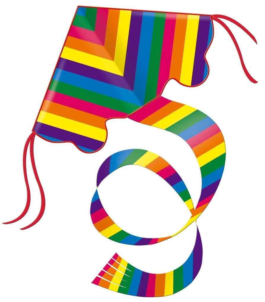 Günther Flugmodelle - Einleinerdrachen Rainbow