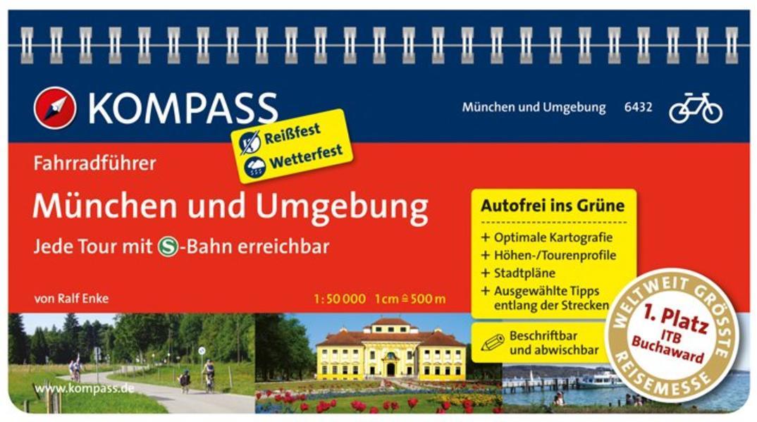 München und Umgebung - Jede Tour mit S-Bahn err...