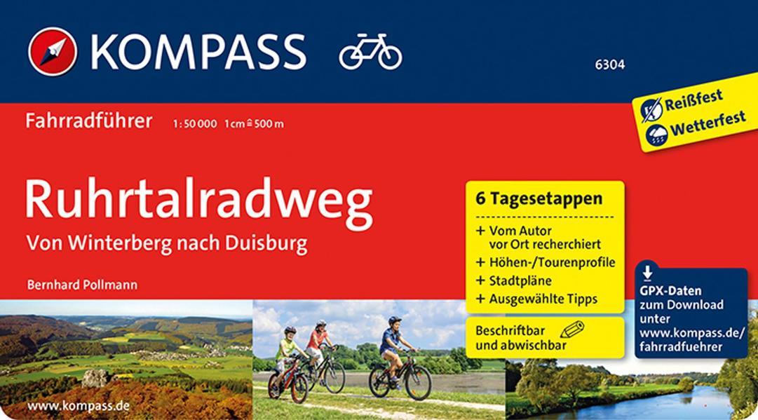 Ruhrtalradweg, von Winterberg nach Duisburg als Buch