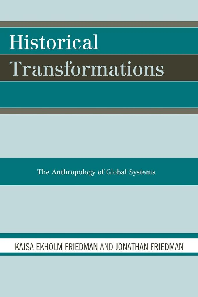 HISTORICAL TRANSFORMATIONS als Taschenbuch