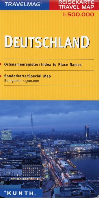 KUNTH Reisekarte Deutschland 1 : 500 000 als Bu...