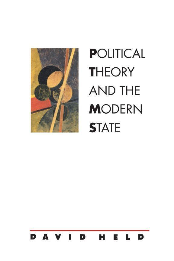 Political Theory and the Modern State: Essays on State, Power, and Democracy als Taschenbuch