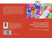 Termes et expressions relatifs á la prévention du VIH en fn au Bénin