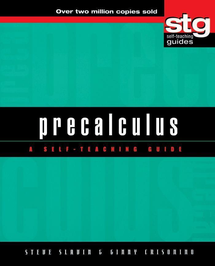 Precalculus: A Self-Teaching Guide als Buch