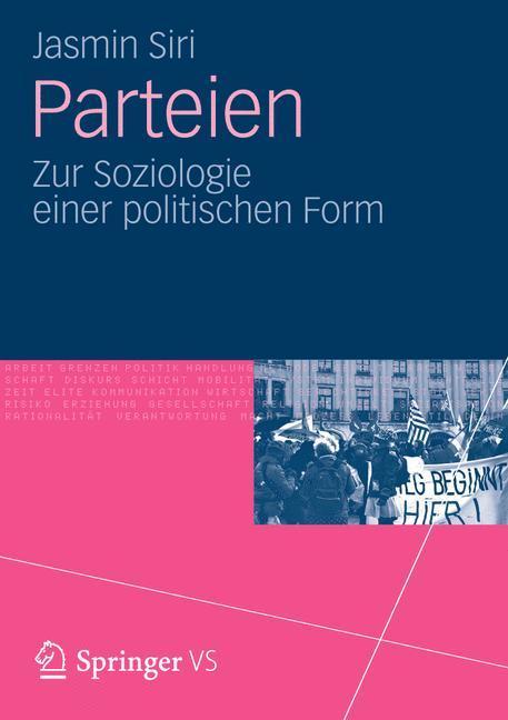 Parteien als Buch von Jasmin Siri