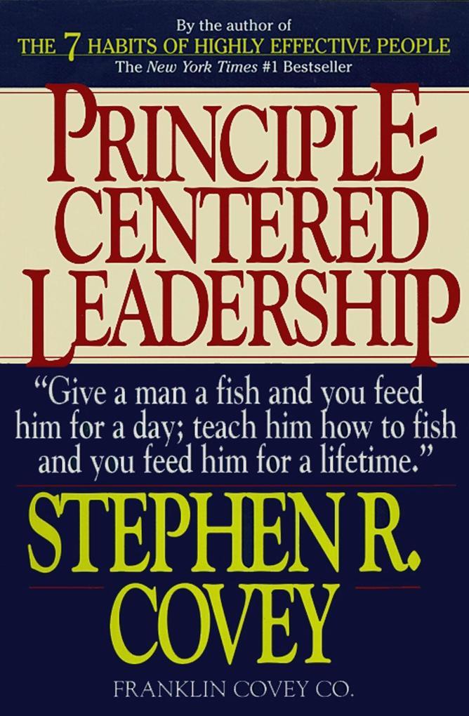 Principle-Centered Leadership als Buch