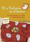 30 x Religion für 45 Minuten Klasse 1/2