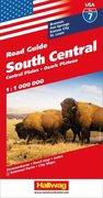 Hallwag USA Road Guide 07 South Central 1 : 1.000.000