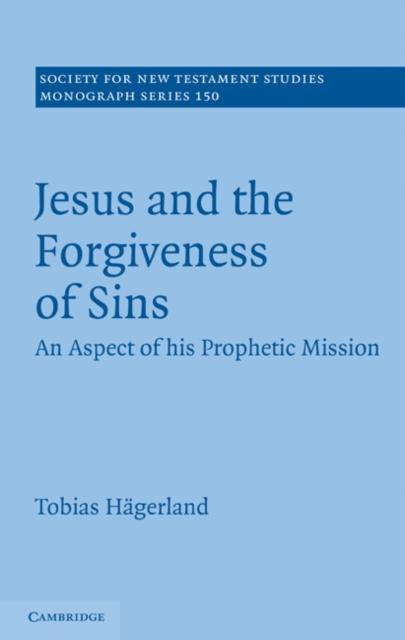 Jesus and the Forgiveness of Sins als eBook Dow...
