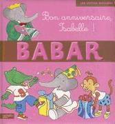 Bon Anniversaire Isabelle !