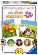 Liebenswerte Tiere. My first Puzzle