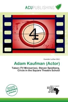 Adam Kaufman (Actor) als Taschenbuch von