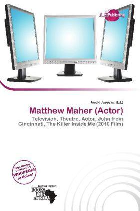 Matthew Maher (Actor) als Taschenbuch von