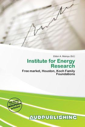 Institute for Energy Research als Taschenbuch von