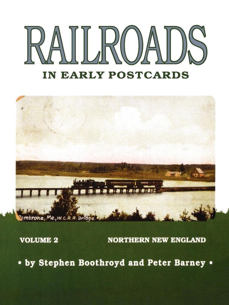 Railroads in Early Postcards als Taschenbuch