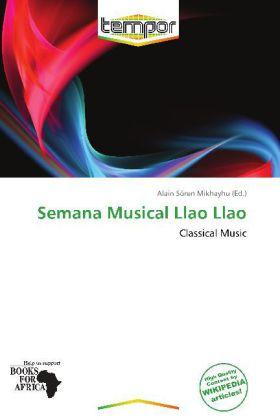 Semana Musical Llao Llao als Taschenbuch von