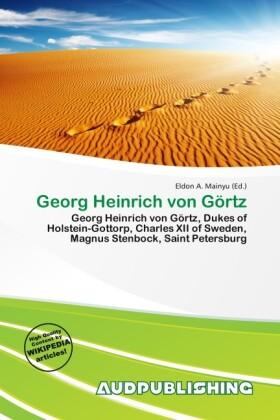 Georg Heinrich Von G Rtz als Taschenbuch von