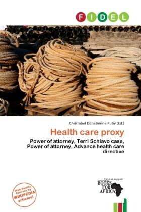 Health Care Proxy als Taschenbuch von