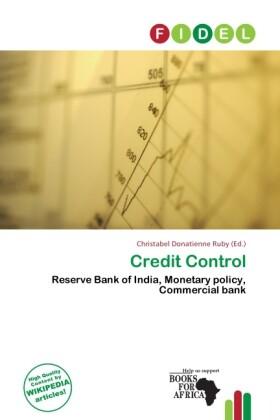 Credit Control als Taschenbuch von