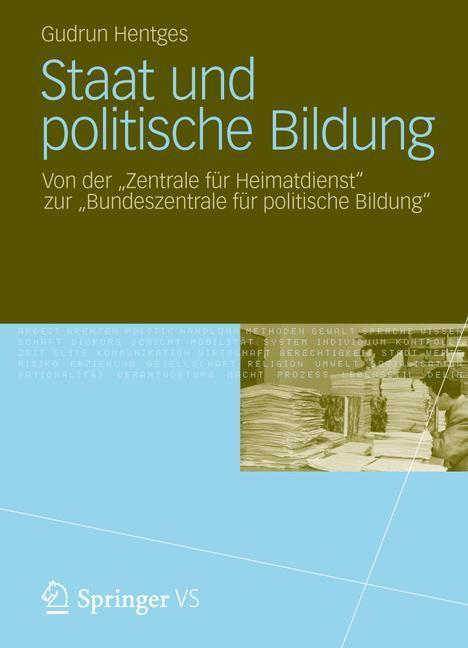 Staat und politische Bildung als Buch von Gudru...
