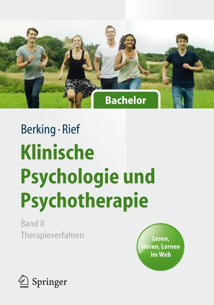 Klinische Psychologie und Psychotherapie für Bachelor als Buch