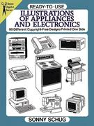 Ready-To-Use Illustrations of Appliances and Electronics: 98 Different Copyright-Free Designs Printed One Side
