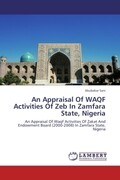 An Appraisal Of WAQF Activities Of Zeb In Zamfara State, Nigeria