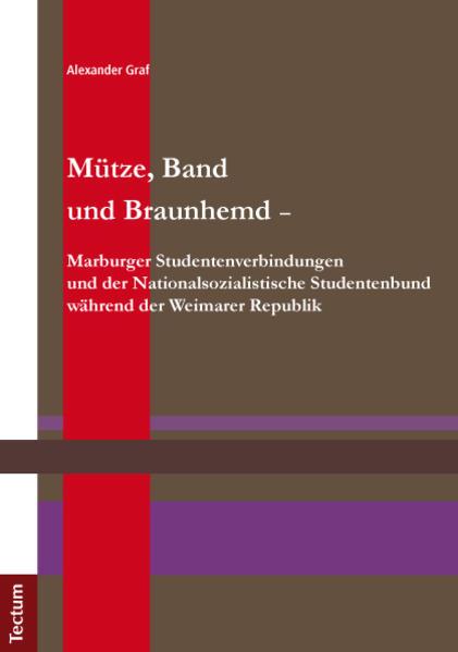 Mütze, Band und Braunhemd - Marburger Studenten...