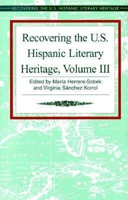 Recovering the U.S. Hispanic Literary Heritage als Buch (gebunden)