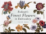 Redout's Finest Flowers in Embroidery
