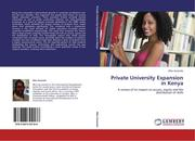 Private University Expansion in Kenya