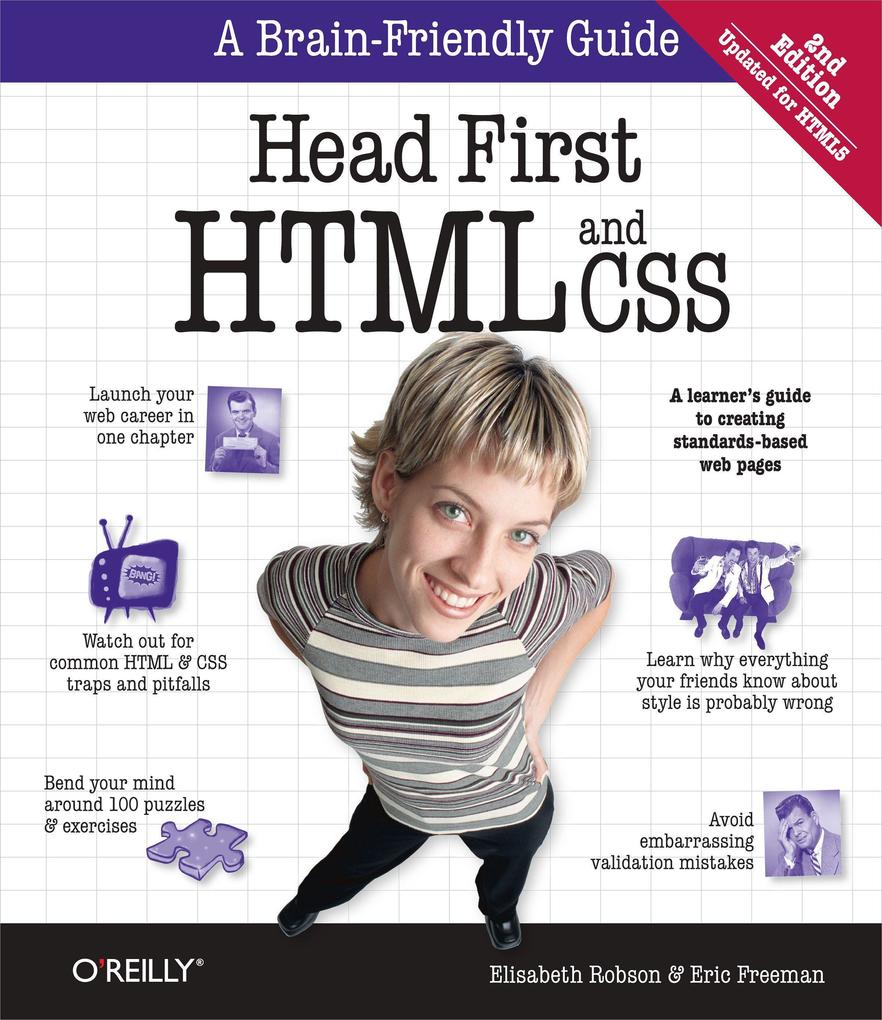 Head First HTML and CSS als Buch von Elisabeth ...