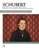 Schubert: Rondo in A Major, Opus 107; D. 951: For One Piano, Four Hands