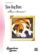 Slow Dog Blues: Late Elementary Piano Solo