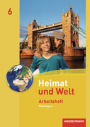 Heimat und Welt 6. Arbeitsheft. Thüringen