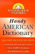 Random House Webster's Handy American Dictionary, Second Edition: Second Edition