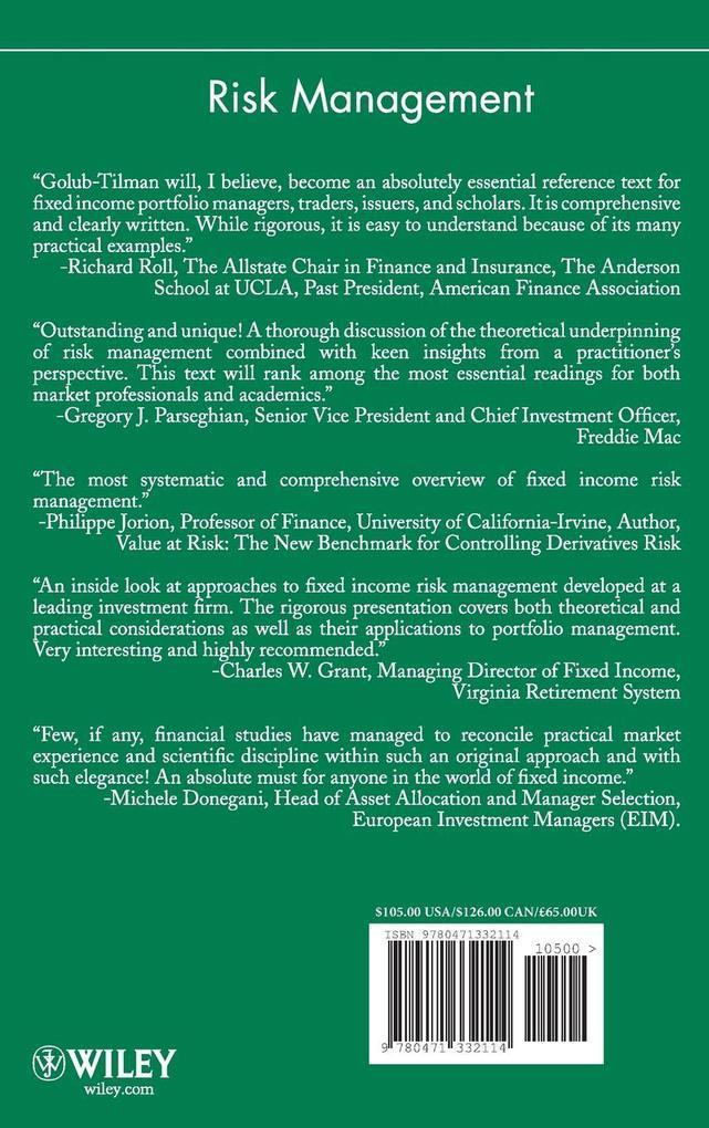 Risk Management als Buch