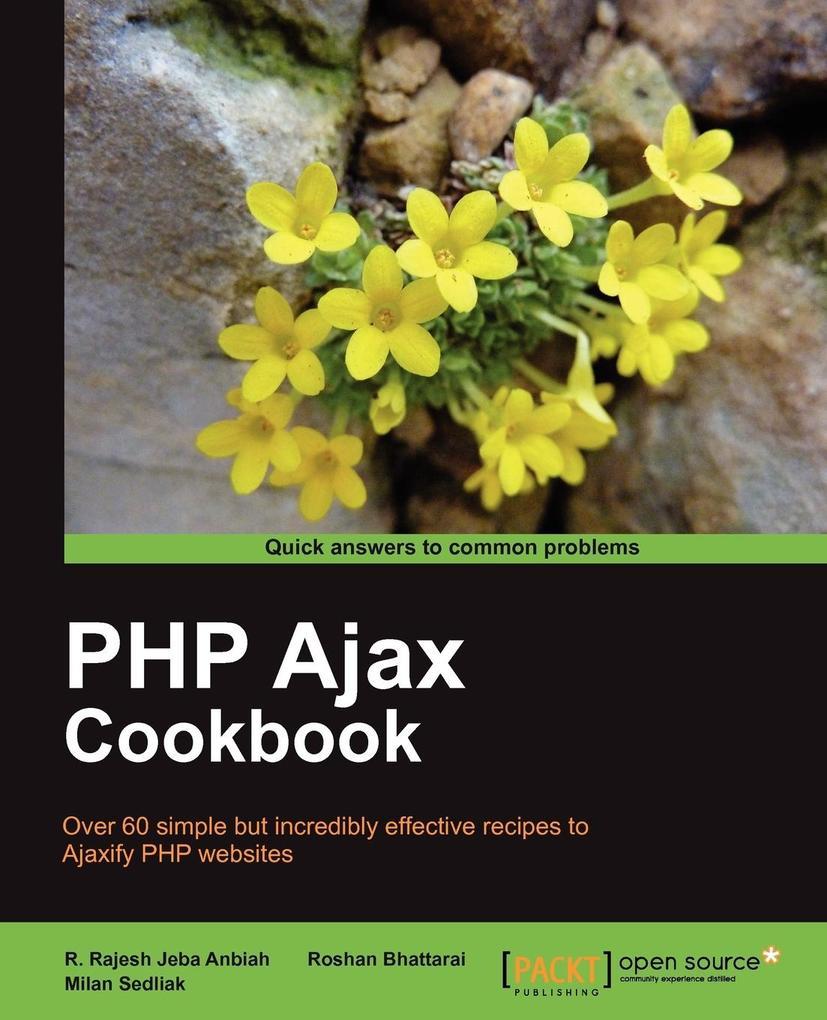 PHP Ajax Cookbook als Buch von Milan Sedliak, R...