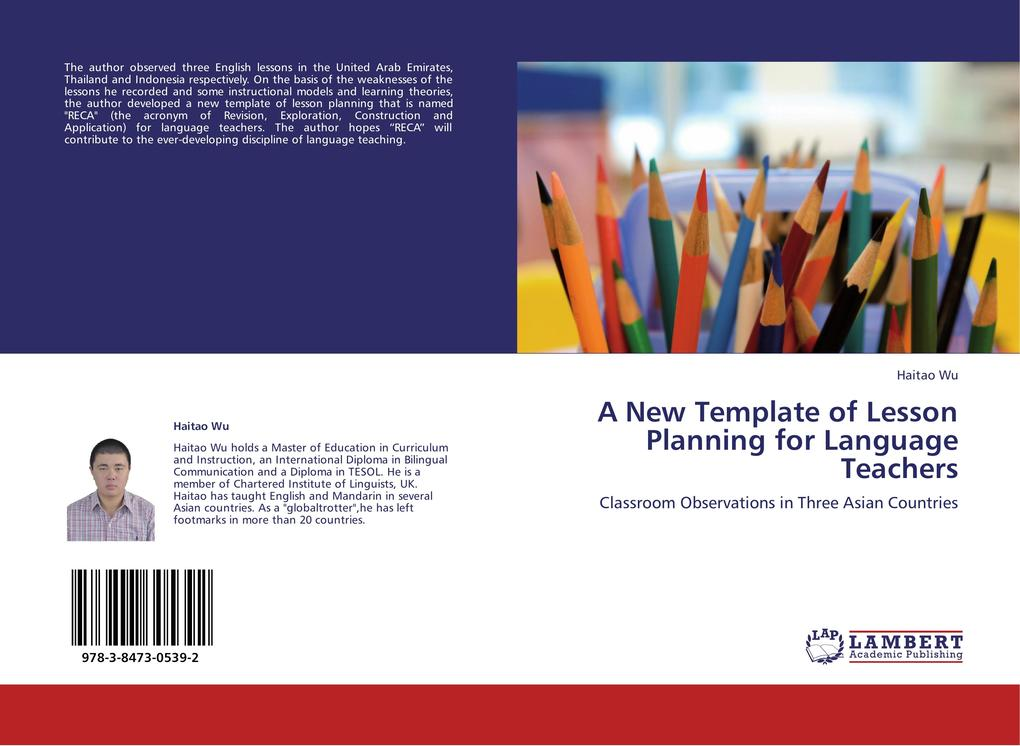 A New Template of Lesson Planning for Language ...