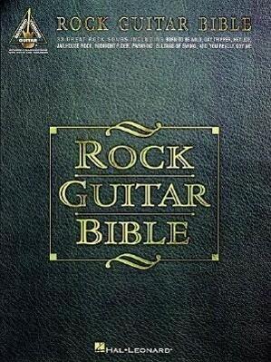 Rock Guitar Bible als Taschenbuch