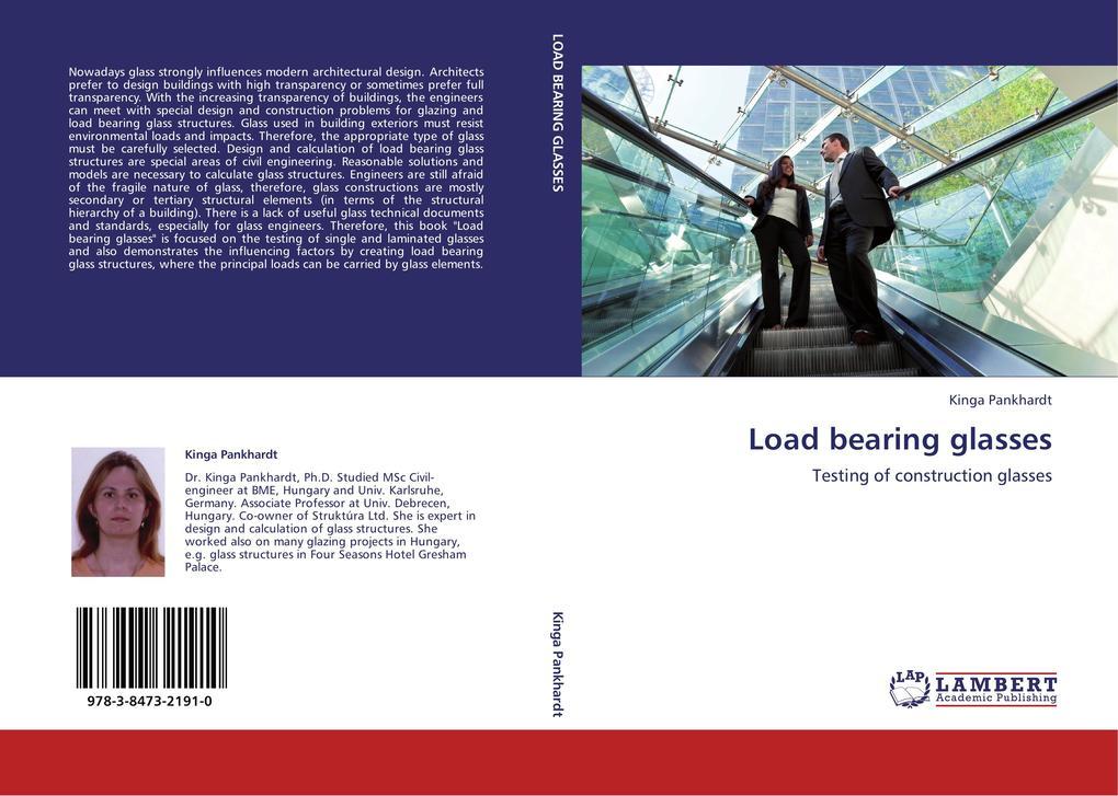 Load bearing glasses als Buch von Kinga Pankhardt