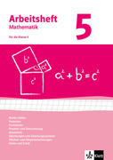 Arbeitshefte Mathematik 5. Neubearbeitung. Arbeitsheft mit Lösungsheft. Reelle Zahlen, Potenzen, Funktionen, Geometrie, Quadratische Gleichungen, Gleichungssysteme