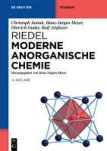 Riedel Moderne Anorganische Chemie als eBook