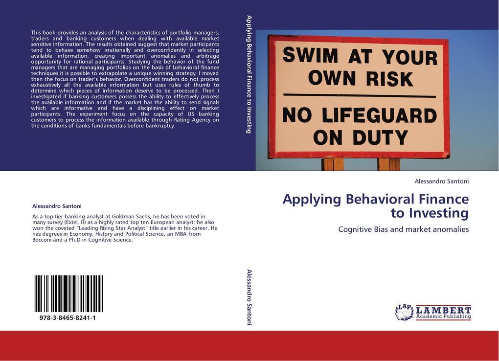 Applying Behavioral Finance to Investing als Bu...