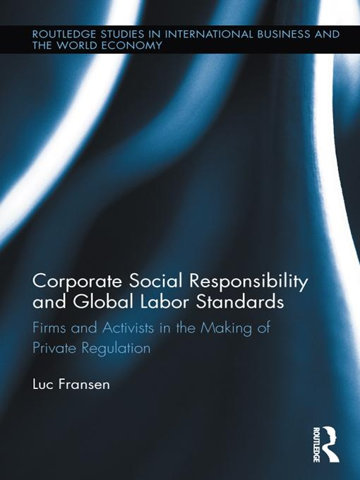Corporate Social Responsibility and Global Labo...