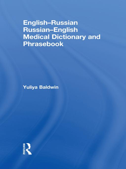 English-Russian Russian-English Medical Diction...