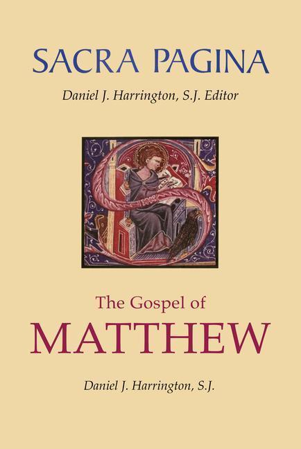 Sacra Pagina: The Gospel of Matthew, Volume 1 als Buch (gebunden)