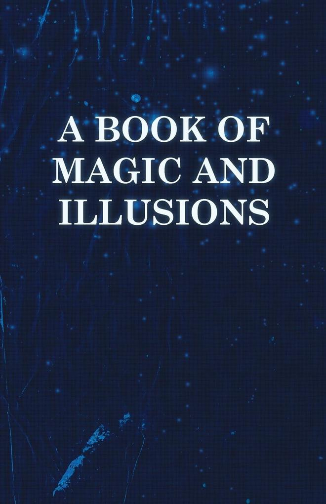 A Book of Magic and Illusions als Taschenbuch v...